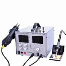 4 in 1 Electric Soldering Iron 850W Desoldering Station With Power Supply 30V