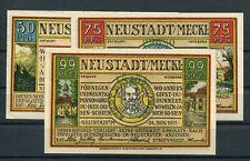 Neustadt ( MV ) 3 Scheine Notgeld ........................................2/7502
