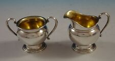 Courtship by International Sterling Silver Sugar and Creamer Set 2pc (#2466)