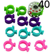 40 Pcs Bobbin Holders Clamps Bobbin Buddies for Sewing Embroidery Quilting