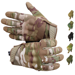 Tactical Military Gloves Outdoor Full Finger Cycling Gloves Men Riding Gloves