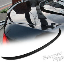 --06-11 Painted BMW 3-Series E90 M3 Rear Trunk Lip Spoiler ABS 668 BLACK