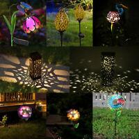 Solar LED Ground Light Outdoor Garden Lawn Landscape Lamp Yard Decor Waterproof
