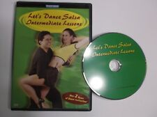 Lets Dance Salsa - Intermediate Lessons (DVD, 2001) Instructional Dance 2 hours