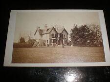 Cdv old photograph Eden Lodge Beckenham c1870s