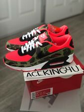 Nike Air Max 90 Reverse Duck Camo (2020) Green Red Off White Atmos Travis