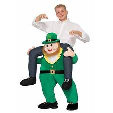 Bristol Novelty Piggy Back Leprechaun Costume, Green