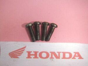 HONDA CBR 1000 CBR1000 F CARB CARBURETTOR FLOAT BOWL SCREWS 1 SET VG80 1987 - 88