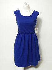 Woman Dress B. Darlin Size 7/8 Sleeveless Royal Blue Empire Waist Above Knee