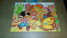"VINTAGE BARNEY GOOGLE AND SNUFFY SMITH PICTURE PUZZLE OVER 100 PIECES 20"" X 15"""