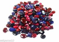 100-1000 Ct. Natural Mix Shape Ruby & Sapphire Loose Gemstone Wholesale Lot