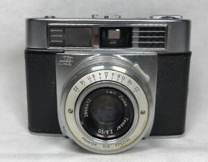 Vintage Carl Zeiss Ikon Contessa Prontor SLK Spezial Tessar 50MM 2.8 Camera