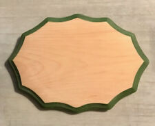 7 X 9 Pine Plaque with Painted Edge and Wall Hanger