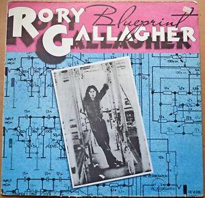 RORY GALLAGHER - 'BLUEPRINT  - STEREO VINYL LP - POLYDOR - 2383 189 - 1973 #ET#