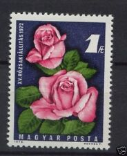 Flowers Mint Never Hinged/MNH Hungarian Stamps