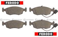 KIT PASTIGLIE FRENO FERODO FIAT PUNTO 199 0.9 1.2 1.4 BENZINA 1.3 DIESEL FDB4353