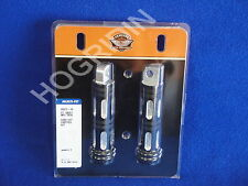 Harley edge cut foot pegs softail dyna touring sportster electra glide 49312-10