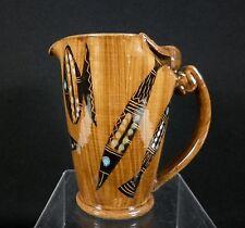 Italian FISH Italy Raymor Era Abstract Modern Art Pottery Creamer Pitcher