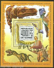 Animal Kingdom Prehistoric Life Dinosaurs 5 Souvenir Sheets Mnh Unperforated Customers First