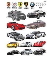 Sports Cars BMW AUDI Wall Stickers Art Decal Decor Kids Children Bed Nursery