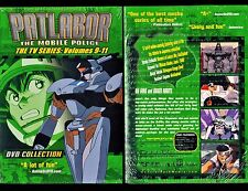 Patlabor: Mobile Police: TV Series Collection 3 - Vol. 9,10,11 - Brand New