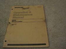 Caterpillar 988B Wheel Loader Operation & Maintenance Manual *Nice* Cat Loader