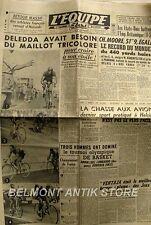Journal l'Equipe n°1968 -1952 -  - Adolphe Deledda - Ch Moore - Ventaja - Sport