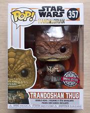 Neues AngebotFunko POP Star Wars die Mandalorian Trandoshan Schurke + Gratis Schutzfolie