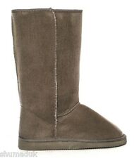 Ella Ladies Womens Girls New Faux Suede Boots Fur Lined Winter Boots UK 3- 9