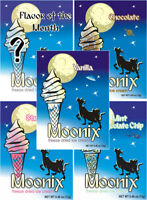 Moonix Freeze Dried Ice Cream VARIETY pack 5 ct FREE shipping