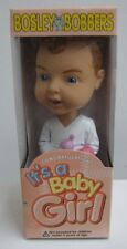 Bosley Bobbers Congratulations It's A Baby Girl Bobble Head Figure Mib