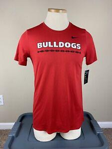 NWT Nike Dri Fit Georgia Bulldogs T-Shirt Women's Size L