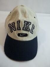 Nike Wool Blend Baseball Cap Hat  Youth Small Adult White Blue