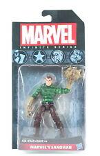 """Marvel Infinite Series 4"""" Marvel's Sandman Color Figure Hasbro 2014"""