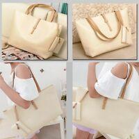 NEW Women PU Leather Tote Shoulder Bags Hobo Handbags Satchel Messenger Purse ~d