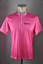 Gonso vintage Radtrikot pink 90er Gr. L BW 54cm jersey Fahrrad Trikot A6