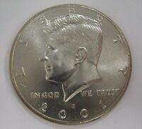 2001-D John F Kennedy Clad Half Dollar Choice BU Condition From Mint Set  DUTCH