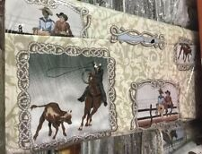 COWBOY UP CX6753-CREAM-D  M MILLER  100% Cotton Fabric PRICED BY THE 1/2 YARD