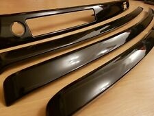BMW 3 serias  (e90, e91) (CIC or CCC) interior trim BLACK PIANO