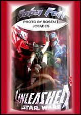 """2006 Star Wars BOBA FETT Unleashed Action Figure 12"""" Target exclusive New"""