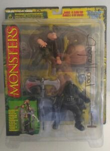 Signed Todd Mcfarlane's Monsters Hunchback Playset Factory Sealed Series 1 CIB