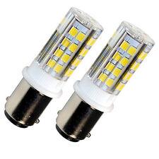 2-Pack HQRP BA15d 110V LED Bulb for Bernina 530 540 640 700 710 720 730 740 750