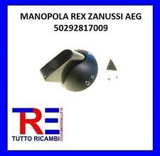 MANOPOLA REX ZANUSSI AEG PERNO DIAMETRO 6 MM MOZZO INCAVO CODICE 50292817009