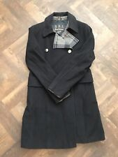 Barbour Winter Tartan Coat - Size 12