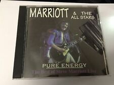 Steve Marriott & The All Stars Pure Energy Outlaw Records 1996 CD