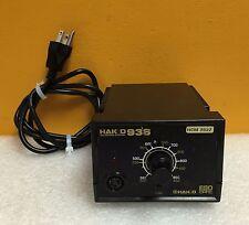 Hakko 936-12 392° to 896°F, 65 Watt, 120V, 60 Hz, Soldering Station Control Unit