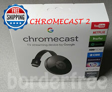 Google Chromecast 2 (Latest Model) - Black ✔ NC2-6A5 ✔ BRAND NEW ✔