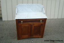 60808 Antique Victorian Marble Top Washstand