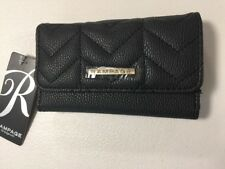 rue21 Black Quilted vegan leather wallet by Rampage