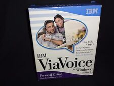 IBM ViaVoice You Talk it types for windows Release 8